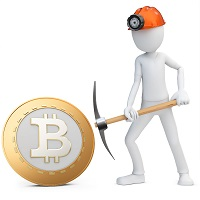 Добыча или майнинг биткоинов (сатоши, bitcoin, BTC)