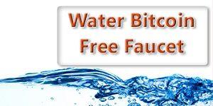 water bitcoin - кран биткоинов (сатоши, bitcoin, BTC)
