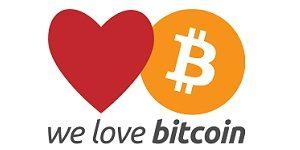 we love bitcoin - кран биткоинов (сатоши, bitcoin, BTC)
