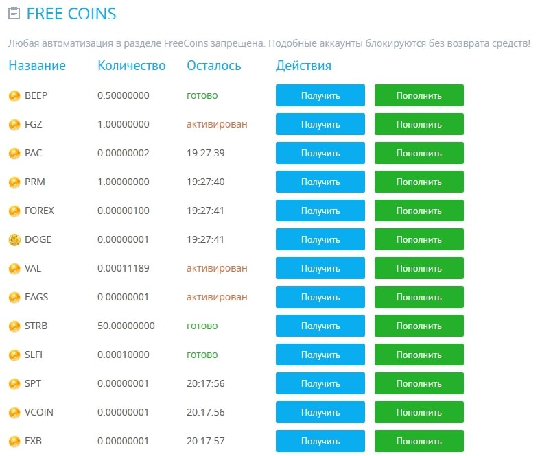 yobit-freecoins